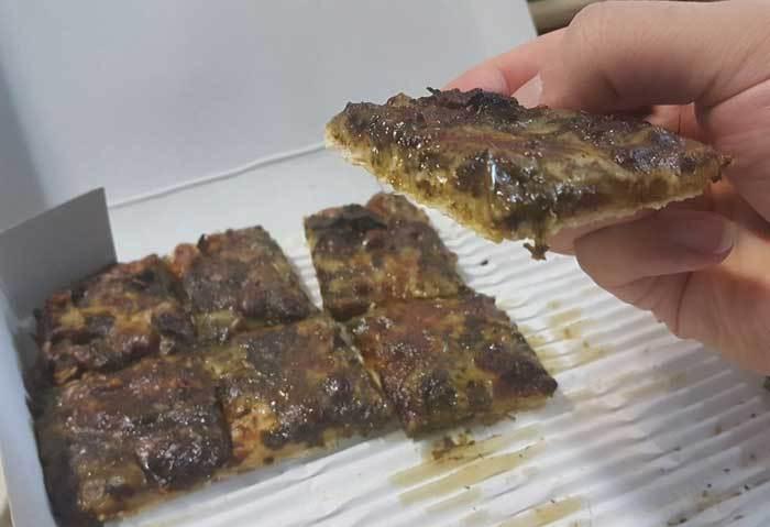 پیتزا قورمه سبزی به روش رستوران های میلان