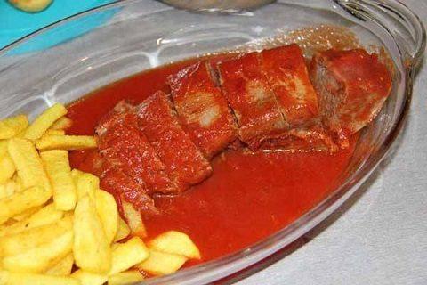 طرز تهیه خوراک زبان با رب گوجه