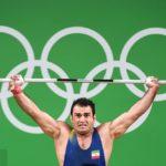 سهراب مرادی تنها وزنه بردار ایرانی در دبی