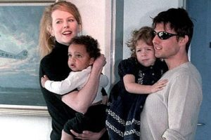 همسر اول نیکول کیدمن و فرزندانش