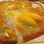 کیک زرد آلو / طرز تهیه کیک زرد آلو خوشمزه و مقوی