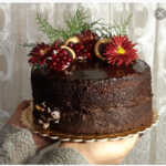 تهیه کیک شیفون شکلاتی