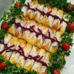 اسپرینگ رول مرغ پیش غذا و فینگر فود خوشمزه+ طرز تهیه