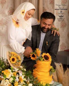 سومین سالگرد ازدواج بهاره رهنما