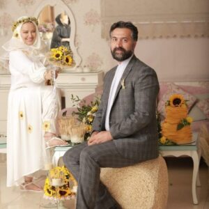 عکس سومین سالگرد ازدواج بهاره رهنما