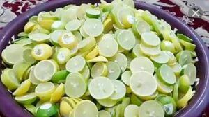 ترشی لیمو