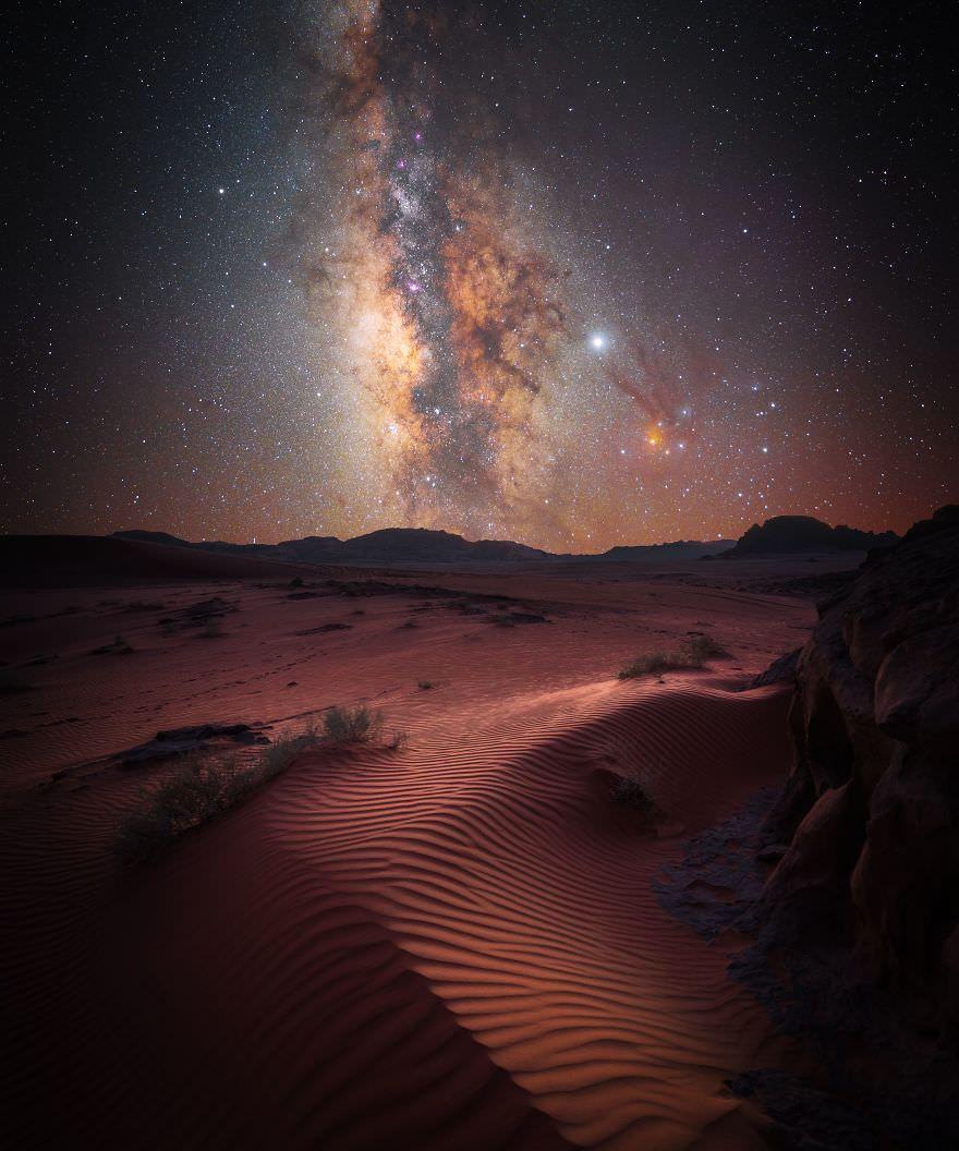 «جادوی صحرا» اثر: استفان لیبرمن