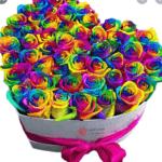 روش رنگی کردن گل