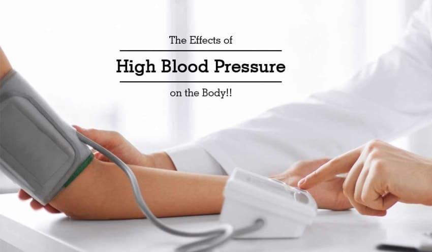 تأثیر فشار خون بالا بر بدن