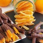 شکلات و پاستیل پوست پرتقال