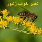 تعبیر خواب زنبور عسل