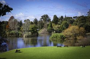 باغ گیاه شناسی سلطنتی در ملبورن استرالیا