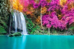 آبشارها در پارک ملی Erawan