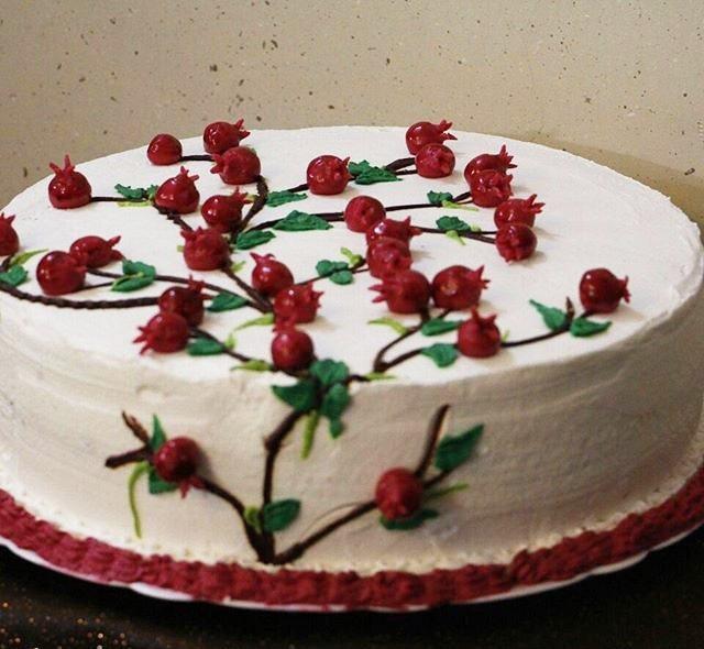 کیک شب یلد