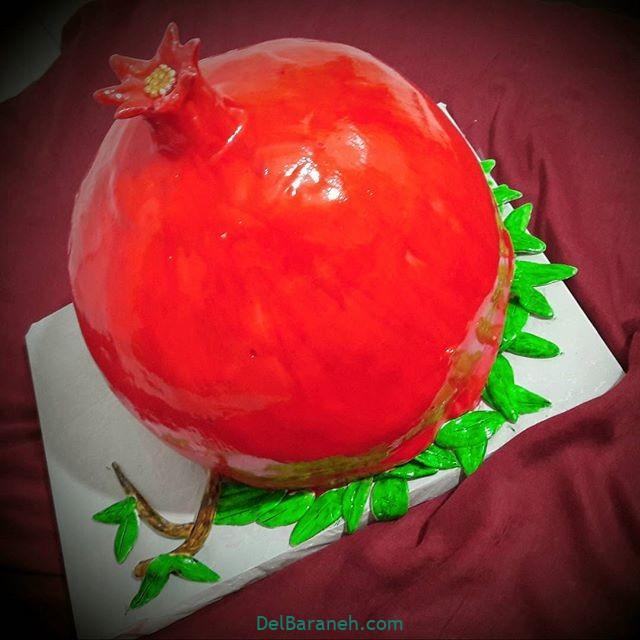 کیک شب یلدا انار