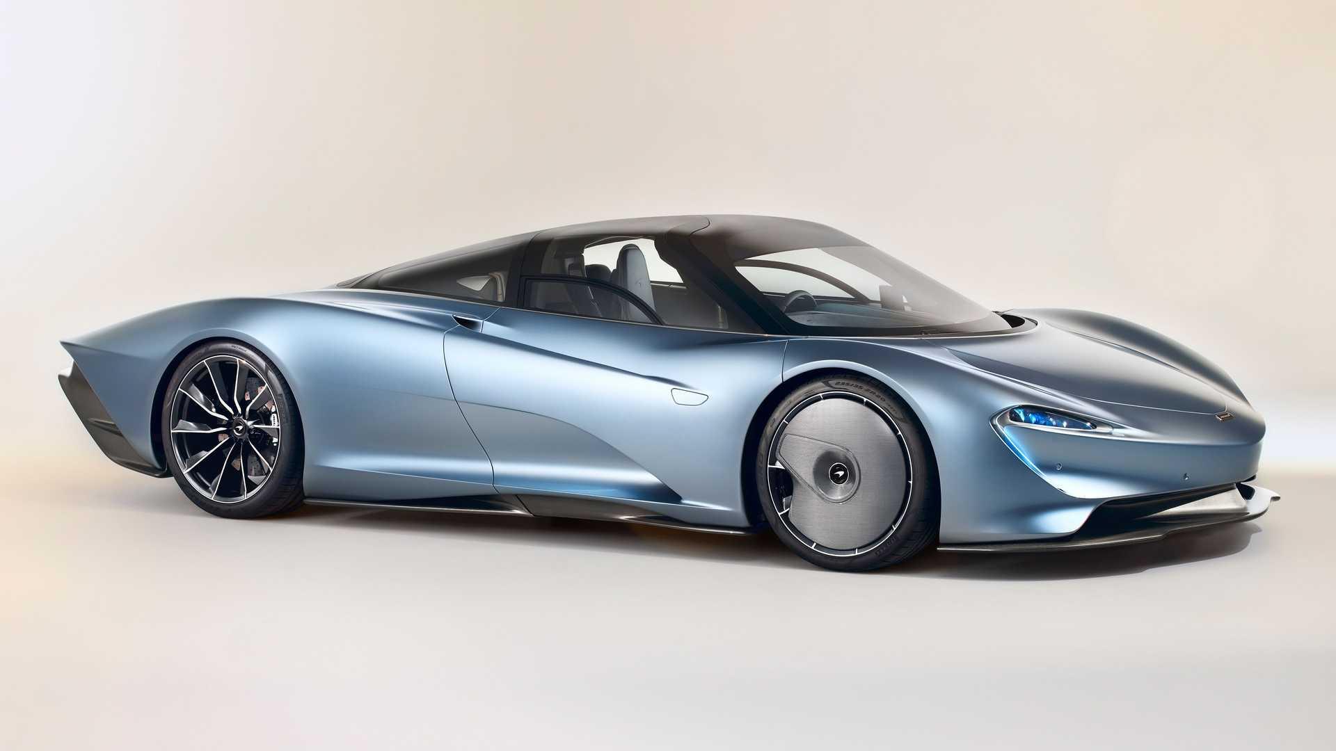 مک لارن اسپیدتیل مدل ۲۰۲۱