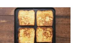 نان تست شکم پر