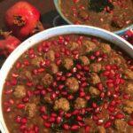طرز تهیه آش انار شیرازی با کوفته قلقلی/آش مخصوص شب یلدا