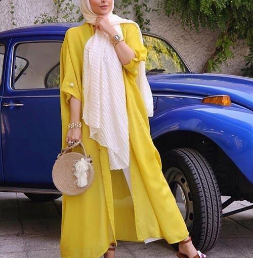 مدل مانتو رنگ سال ۱۴۰۰