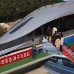 چین سریع ترین قطار تجاری جهان را معرفی کرد