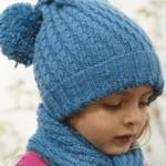 بافت کلاه/ نحوه بافت کلاه دخترانه با مدل پا گنچشکی  و مدل توری