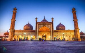 جاما مسجد در آگرا هند