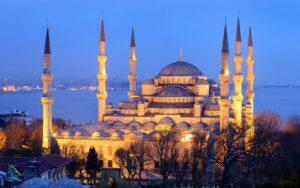 مسجد آبی (سلطان احمد) در استانبول