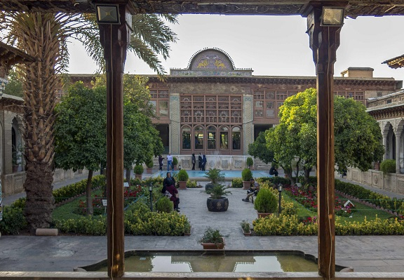 Zinat Al-Molk Mansion in Shiraz