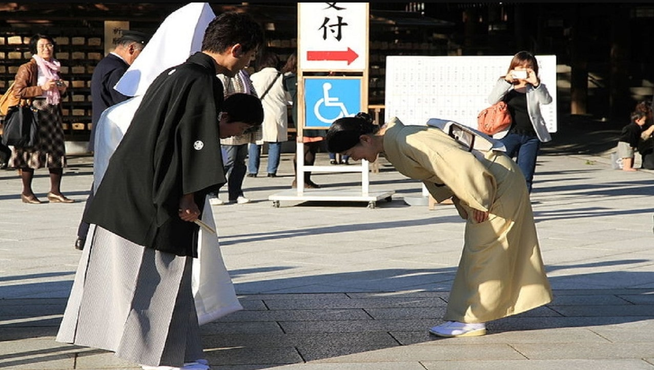 رعایت ادب در ژاپن