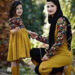ست های زیبای مادر و دختری