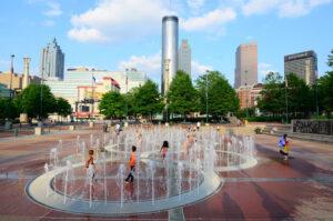 آتلانتا پایتخت و بزرگترین شهر جورجیا