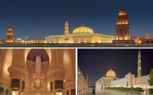 مسجد جامع سلطان قابوس-مسقط ، عمان