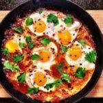 طرز تهیه املت قارچ و گوجه فرنگی / املت ساده و خوشمزه