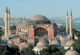 مسجد ایاصوفیه ، ترکیه
