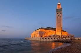 مسجد حسن دوم در کازابلانکا ، مراکش
