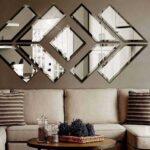 آینه کاری مدرن در دکوراسیون منزل