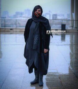 تیپ باران کوثری در جشنواره فجر