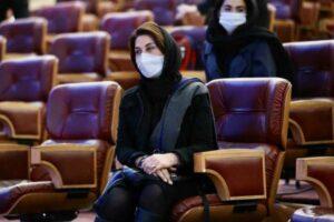تیپ فاطمه متعمد آریا در جشنواره فجر