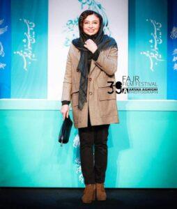 مه لقا باقری در سی و نهمین جشنواره فیلم فجر