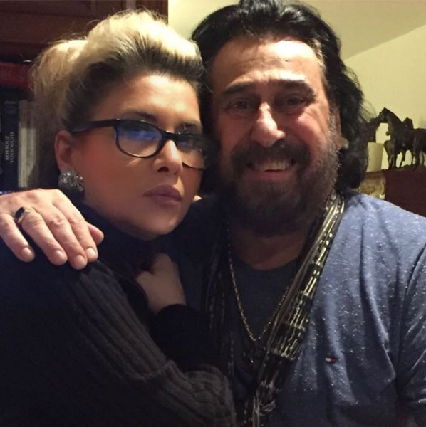 عکس شهرام شب پره و همسرش
