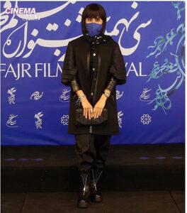 تیپ الناز شاکردوست در جشنواره فجر