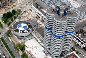 طراحی ساختمان BMW