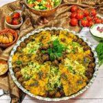 کلم پلو/ طرز تهیه کلم پلو  اصیل شیرازی