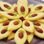 شیرینی بادامی/ طرز تهیه شیرینی بادامی خوشمزه مخصوص عید