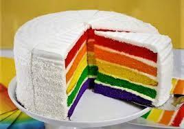 کیکک رنگین کمان