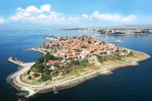 شهر جزیره ای Nesebar