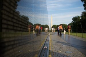 دیوار یادبود جانبازان ویتنام