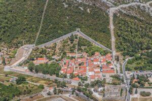 دیوار استون در جنوب کرواسی