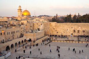 دیوار غربی در بیت المقدس