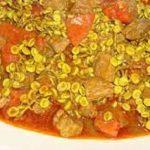 خورش ونوشک / طرز تهیه خورش ونوشک ( چغاله پسته کوهی) خوشمزه کرمانشاهی
